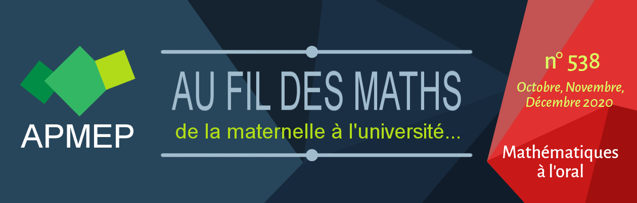 Au Fil des Maths